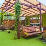 Tao & Tappanyaki - ogród - ścianka do wspinania