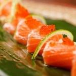 sushi on the leaf